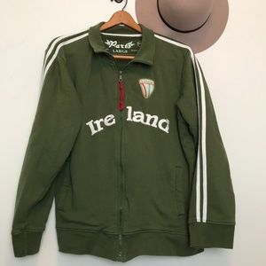 Ireland Army Green Trac Jacket